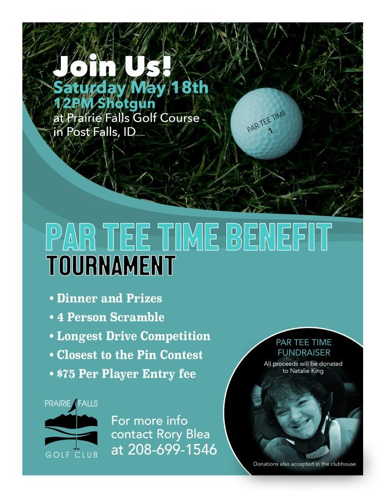 par tee time benefit tournament prairie falls golf club. Black Bedroom Furniture Sets. Home Design Ideas